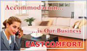 EastComfort list of apartments in Bucharest